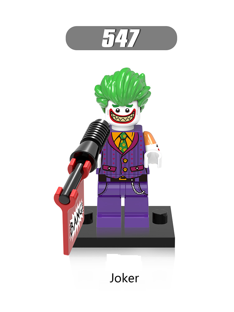 Single Sale Legoinglys Marvel Avengers Building Bricks Super Heroes Joker Harley Quinn Learning Toys Kids Brithday Gifts Xh547