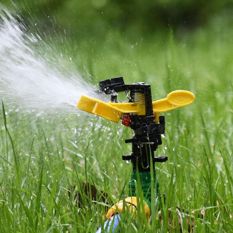Garden Rotating Sprinkler Water Nozzles Male 1/2 3/4