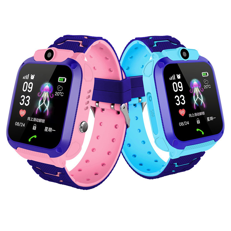 English Version Kids Watches GPS Tracker Watch Wifi Touch Screen SOS Call Location Smart Watch Anti Lost Monitor Children Clock