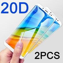 2pc 20D tempered glass for Xiaomi Redmi Note 5 Pro protective glass on Xiomi Redmi 5A redmi5 Plus Note 5A Prime screen protector