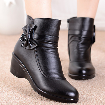 2020 new fashion Women Boots zipper ankle Boots for women Chelsea Plush Winter Boots Warm Ankle Botas Winter Shoes flat with genuine leather women martin boots winter warm shoes botas feminina female motorcycle ankle fashion boots women botas