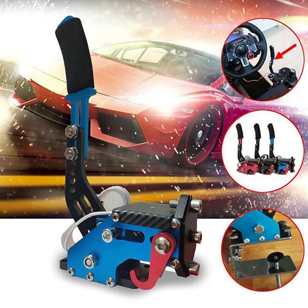 Novo drift racing jogo volante assento suporte puxar freio de mão linear
