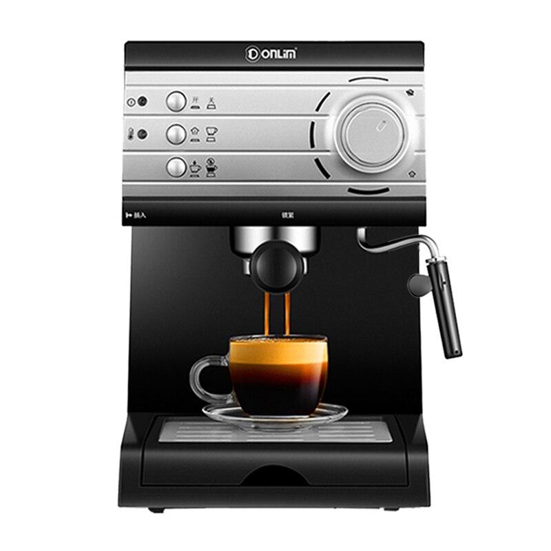 Cheap Italian 20 Bar High Pressure Steam Semi-automatic Espresso Coffee Machine ForHome Comercial Milk Bubble Coffee Makers