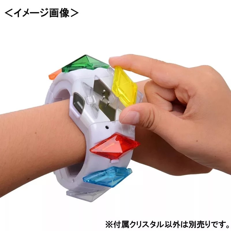 TOMY Pokemon Action Figure Model Game Linkage 4D Somatosensory Z Bracelet Z Crystal Kids Gift Toys