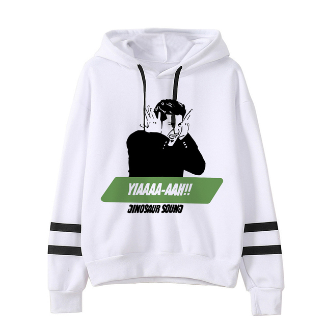 FRIENDS THEMED STRIPED HOODIE (28 VARIAN)