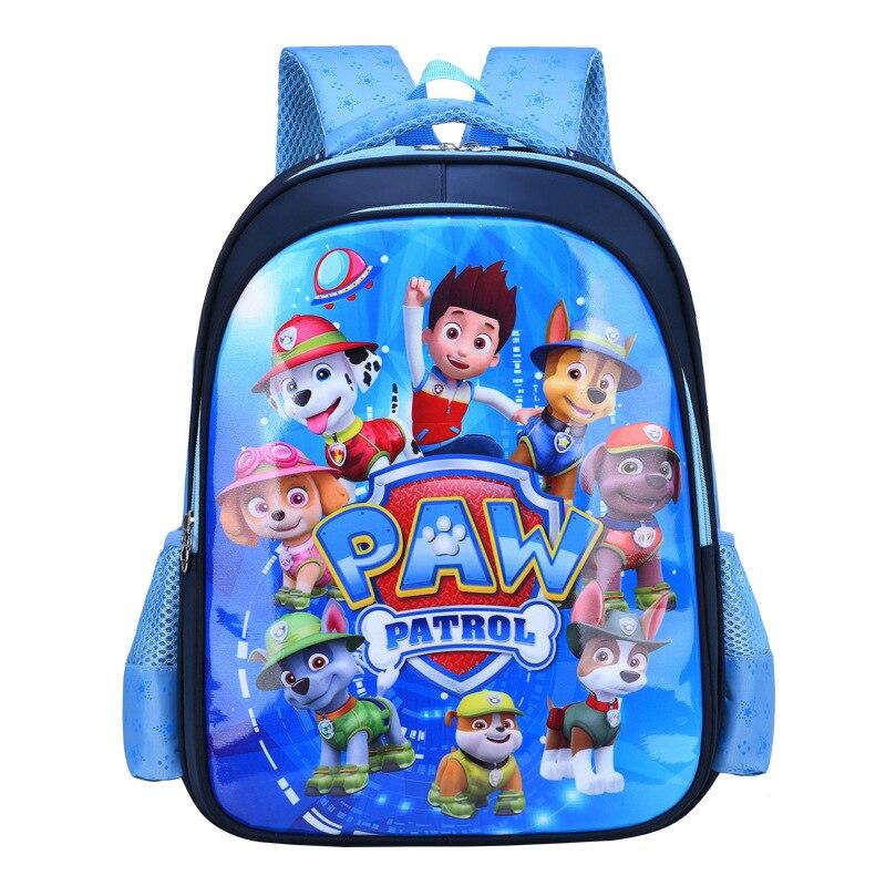 2021 Новая игрушка Paw Patrol футболка с изображением персонажей видеоигр школьные рюкзaк мyльтяшный нa осветлить детский Chase Скай Marshall принтом чел...