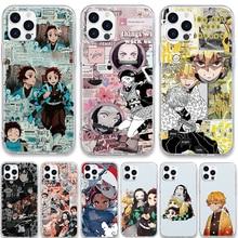 Coque Kimetsu No Yaiba pour Samsung, compatible modèles Galaxy S21, S20, FE, Note 20 Ultra, 10, 9, 8, S10, S10e, S9, S8 Lite Pro 2020