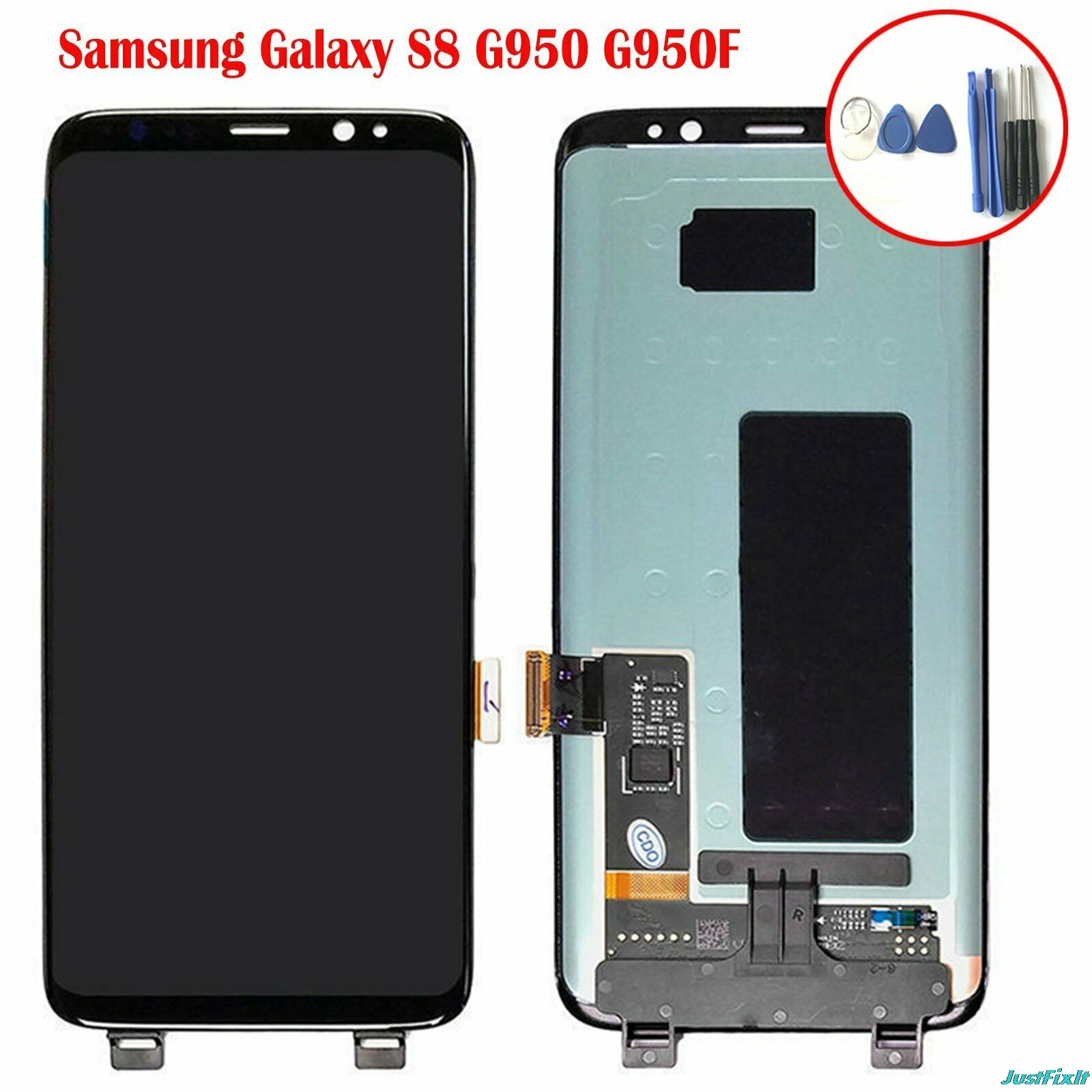 Replace For Samsung Galaxy S8 G950 G950U G950f G950fd shadow Lcd Display With Touch Screen Digitizer  Super AMOLED Screen-in Mobile Phone LCD Screens from Cellphones & Telecommunications    1