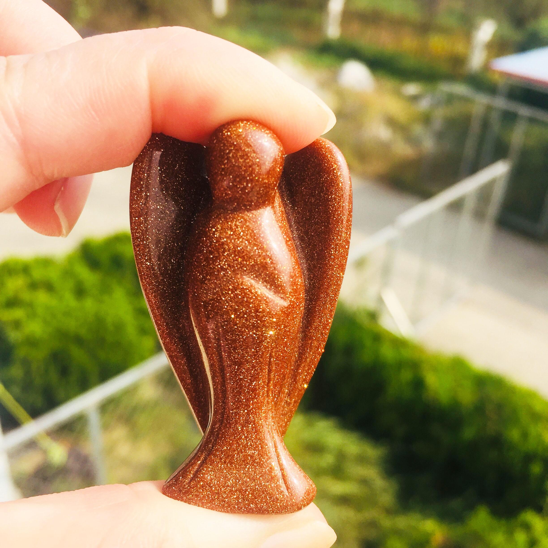 1 шт. натуральные ручной работы Кварцевые ангелы кристаллические ангелы народные ремесла для исцеления подарки