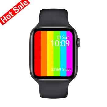 IWO Series W26 SE Smart Watch 6 Men Women Smartwatch Sports Fitness Bracelet For Xiaomi iPhone Band Watches Bluetooth Device Electronics Smart Electronics Smart Watches W26 SE Xiaomi Color: W26-Black Size: With Original Box