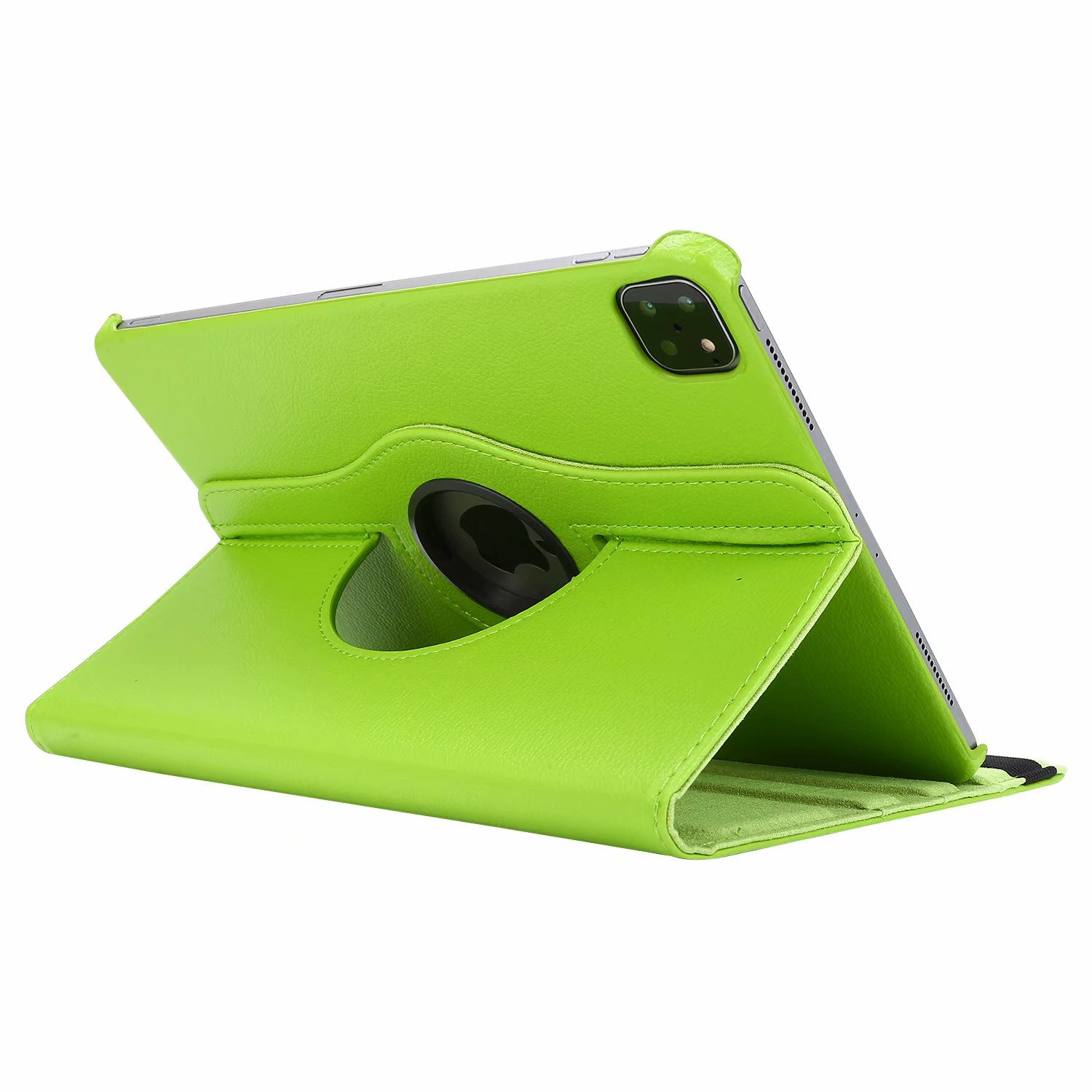 Green Green Case for iPad Pro 11 Cover 2021 2020 2018 A2228 A2068 A2230 A2013 A1934 A1980 360