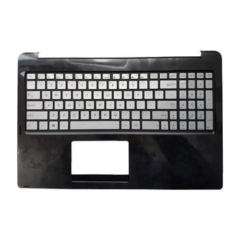 laptop keyboard US English for ASUS N542LA 13NB0581AM0131 0KNB0-612JUS00 AEBK1U00010 backlight white black topcase palmrest