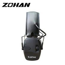 Тактические электронные наушники zohan шумоподавляющие мягкие