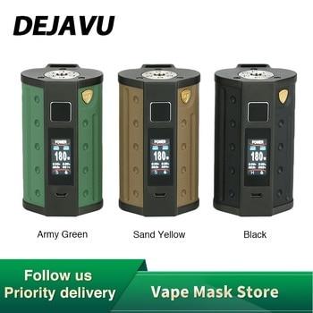 New DEJAVU DJV D7 180W Touch Screen TC Box MOD with GX180 UTC Touchscreen Chip & HD Color Screen No Battery Mod