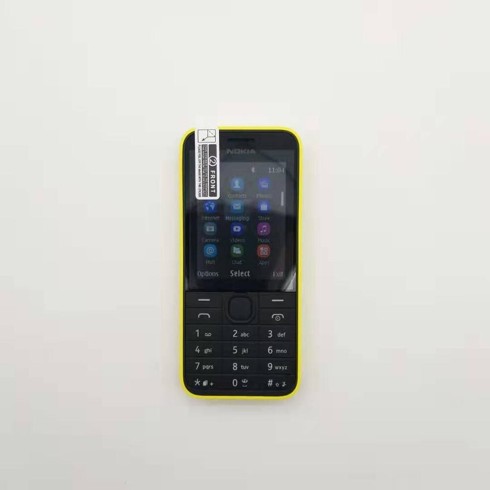 208 Dual Sim Original Nokia 208 2G/3G GSM 1.3MP 105 0mAh Unlocked Cheap Refurbished Celluar Phone Refurbished Free Shipping