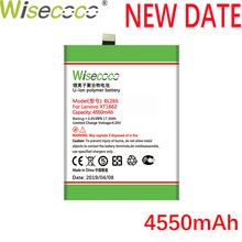 цены Wisecoco BL265 BL 265 4550mAh 3.85V Built-in Battery For Lenovo XT1662 For MOTO M XT1662 XT1663 Phone Battery Replacement
