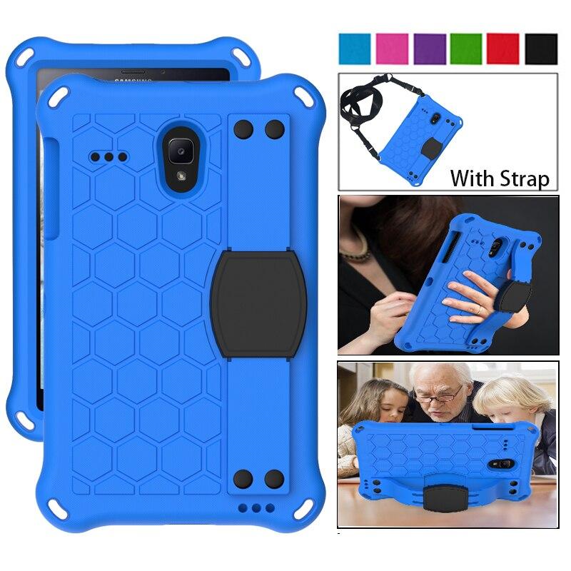 For Samsung Galaxy Tab A 8.0 Inch 2017 2018 T387 T380 T385 T330 T375 T377 Case Full Body Kids Safe EVA Shockproof Tablet Cover