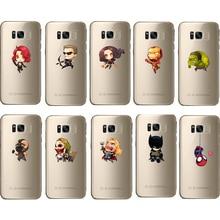 new fashion phone case batman superhero soft cover for Samsung galaxy note 10 9 8 s10 s9 s8 s7 s6 edge plus s10e
