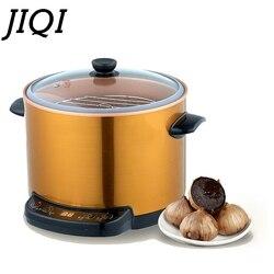 JIQI fermentator do czarnego czosnku elektryczny czarny czosnek Ferment maszyna gospodarstwa domowego DIY automatyczna zymoliza zymoza Pot Maker 6L ue usa w Roboty kuchenne od AGD na