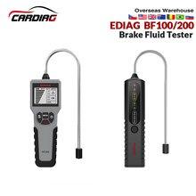 DY23 Ediag BF100 araç otomotiv fren hidroliği test cihazı dijital fren hidroliği kontrol araba fren yağı kaliteli LED göstergesi ekran