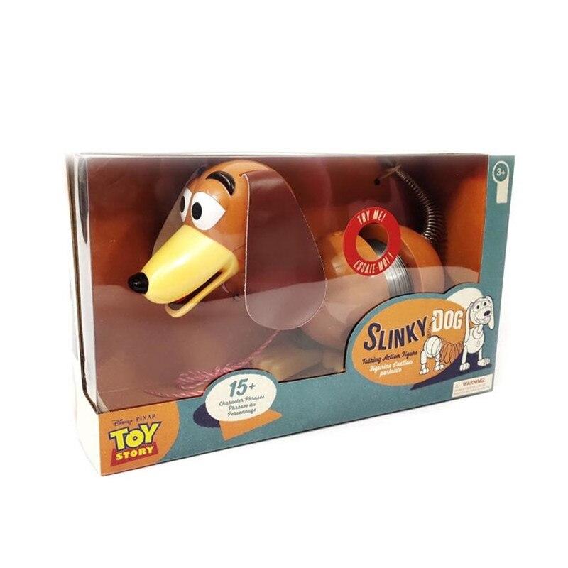 Disney Pixar Slinky chien jouet histoire 4 figurines 30cm métal modèle poupée Collection limitée jouets enfants cadeaux X4445