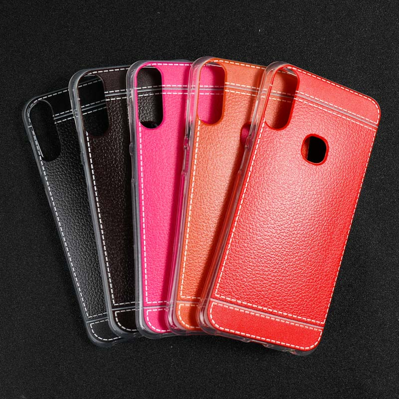 TPU Leather Cases For Lenovo A5 Case Silicone Cover For Lenovo A5 L18011 Case TPU Cover For Lenovo A5 Cover Back Housings Coque