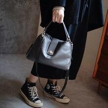 Women's Handbag Made Of 100% Soft Leather, Top Handle, Lockable Ladies Bag, Ladies Crossbody Shoulder Bag Bolsos Mujer Handbags