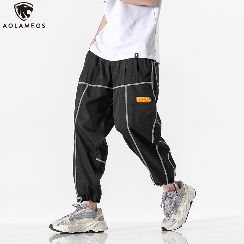 Mens Fashion Sweatpants Skull in Gear Pants with Pockets