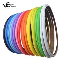 Pneus de vélo de route COMPASS 700C 700 x 23C 700 x 25C, ultraléger, Anti-coup de couteau, vitalité multicolore, 700