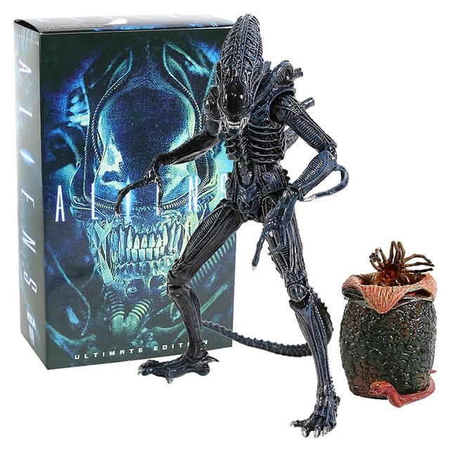 Neca Aliens Ultimate Edition Bundle Blue /& Brown