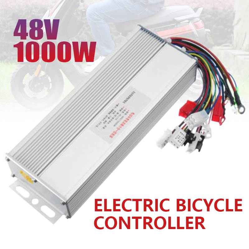 DC 40A 48V 1000W Electric Bicycle Brushless Speed Motor Controller For Electric Bike Scooter E-bike Accessories 21*8*4cm