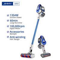 JIMMY JV83 aspirateur sans fil, aspirateur à bâton sans fil, aspirateur à moteur numérique, aspirateur à poussière 20kPa pour la maison