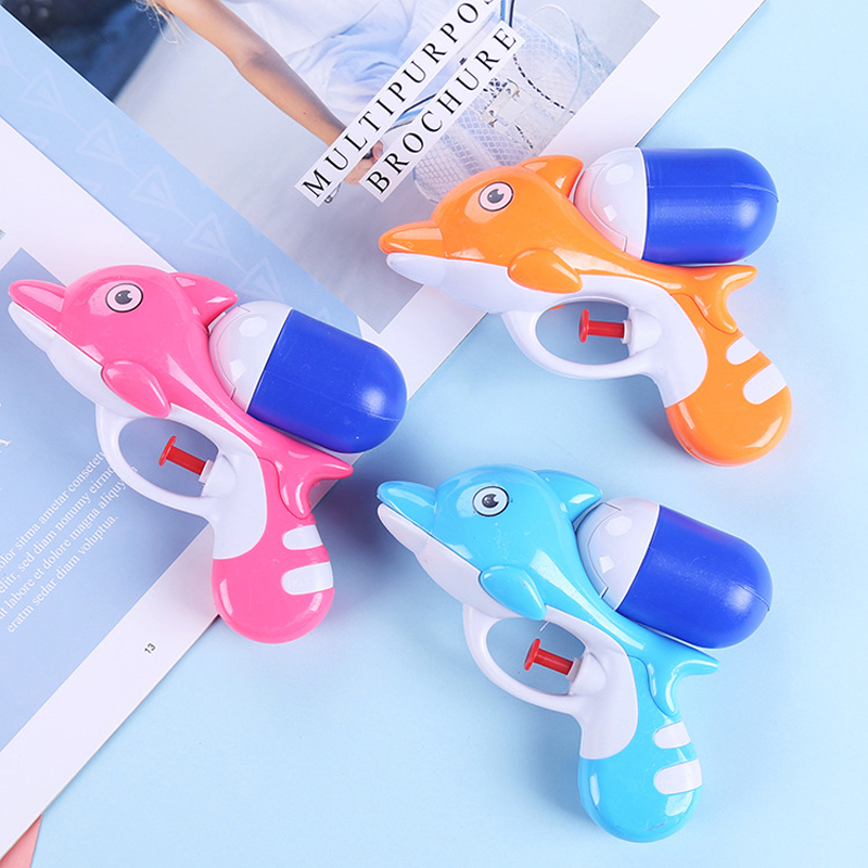Children's Water Gun Toy High-Pressure Water Jet Summer Beach Swimming Parent-Child Interactive Dolphin Water Gun Toy