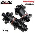 Велосипедная ступица ARC из углеродного волокна, дисковый концентратор Freehub, подшипник NBK, Передняя Ступица 9/15x100, задняя велосипедная ступица...