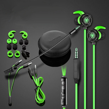 Plextone G30 Gaming Headset With Microphone Earphone wired Headphone Phone PC Laptop Original Genuine For Gamer 3.5MM Earbuds