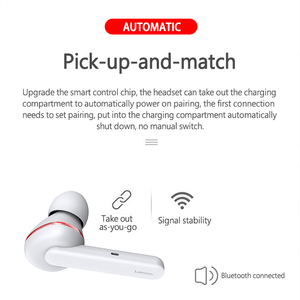 Image 4 - Lenovo HT28 TWS True Wireless Bluetooth 5.0 Earphone Deep Bass Earbuds HD Stereo In Ear Noise Cancelling MP3 Headset For Mic