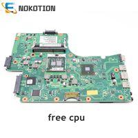 NOKOTION Laptop Motherboard Para Toshiba Satellite C655 C655D PLACA PRINCIPAL V000225000 6050A2355201 MB A02 HM55 DDR3 cpu livre|laptop mainboard|socket pga989mainboard laptop -