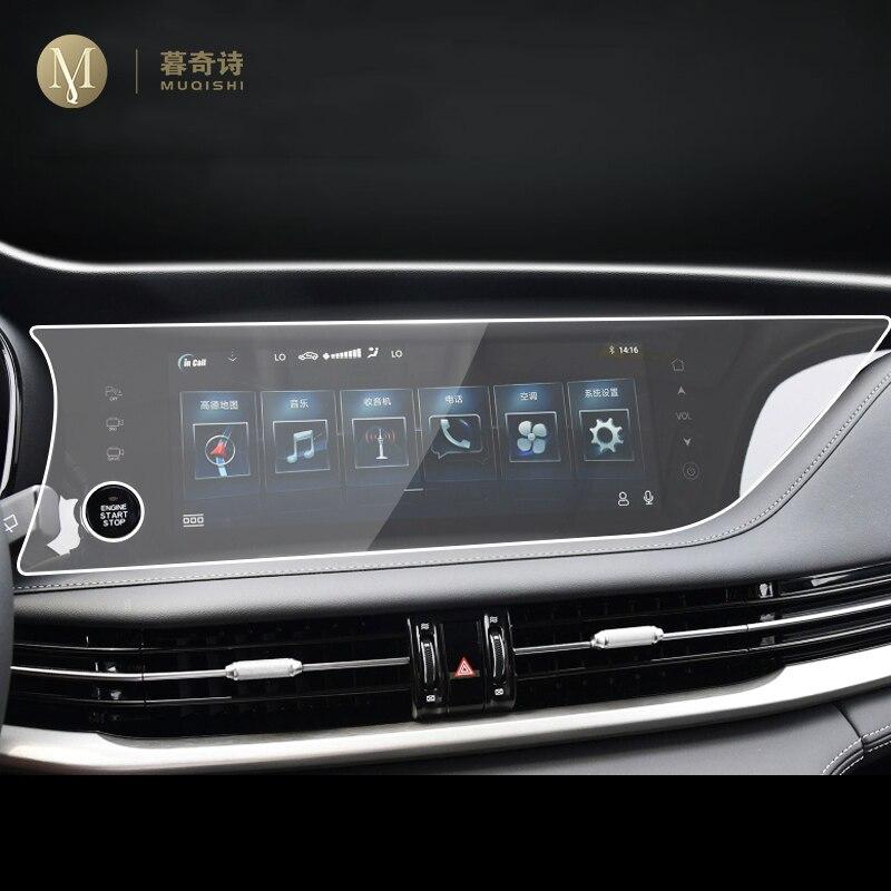 Para changan cs95 2019 2020 carro gps navegação película protetora tela lcd tpu filme protetor de tela anti-risco interior reequipamento