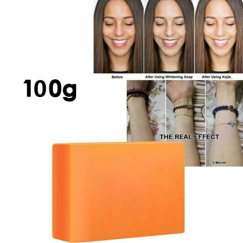 100g 6 стилей мыло кожи Осветляющий отбеливающий лечение акне и 100% койевая кислота Отбеливающее мыло ручной работы мыло Уход за лицом TXTB1
