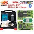 5054a ODIS v5.1.6 keygen 5054a OKI полный чип OBD2 сканер автомобильный считыватель кода 5054 Bluetooth obd ii диагностический инструмент