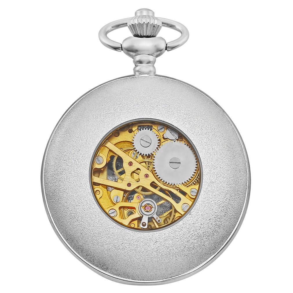 Hollow Mechanical Pocket Watch Alloy Chain Personalized Fashion Pocket Watch Universal For Women Men Luxury Business 2019