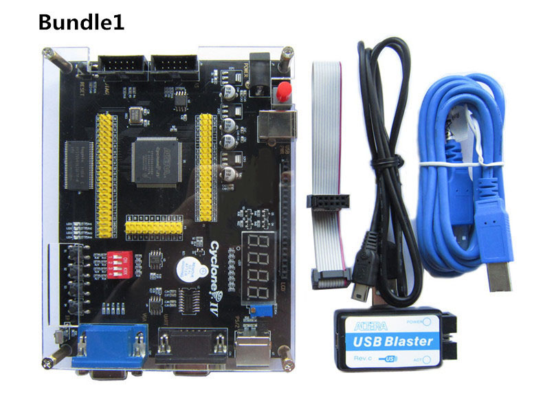Image 3 - Altera Cyclone IV EP4CE6 FPGA Development Board NIOSII EP4CE PCB and USB Blaster Jtag AS Programmer-in Integrated Circuits from Electronic Components & Supplies