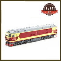 HO 1:87 Train model LINE DF4DK Dongfeng 4D quasi high speed internal combustion locomotive for birthday gift
