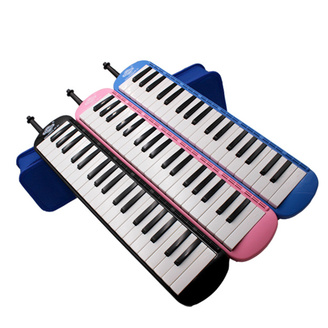 <font><b>37</b></font> <font><b>Keys</b></font> <font><b>Melodica</b></font> Piano Style Pianica Musical Education Instrument Toy Musical Instrument 2019 Christmas Gift- Green image
