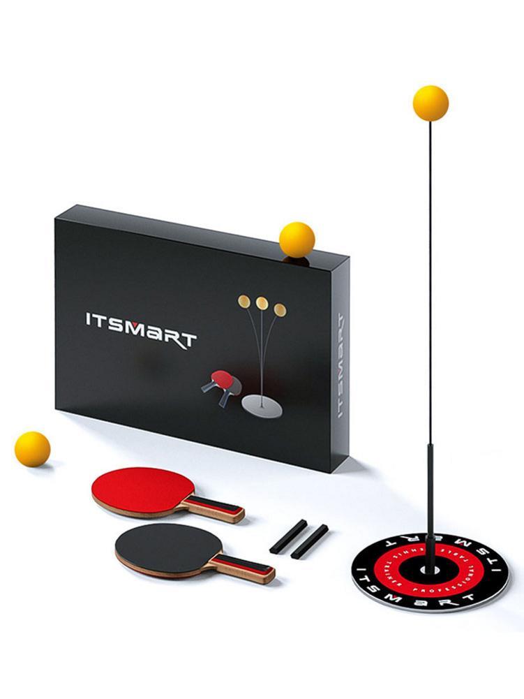 Professional Table Tennis Training Robot Pingpong Balls Trainer Rapid Rebound Elastic Soft Shaft Ping Pong Ball Machine Trainer