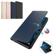 For Oukitel C16 Pro Case PU Leather Flip Stand Wallet Armor Shockproof Cover C17 Card Slot Luxury