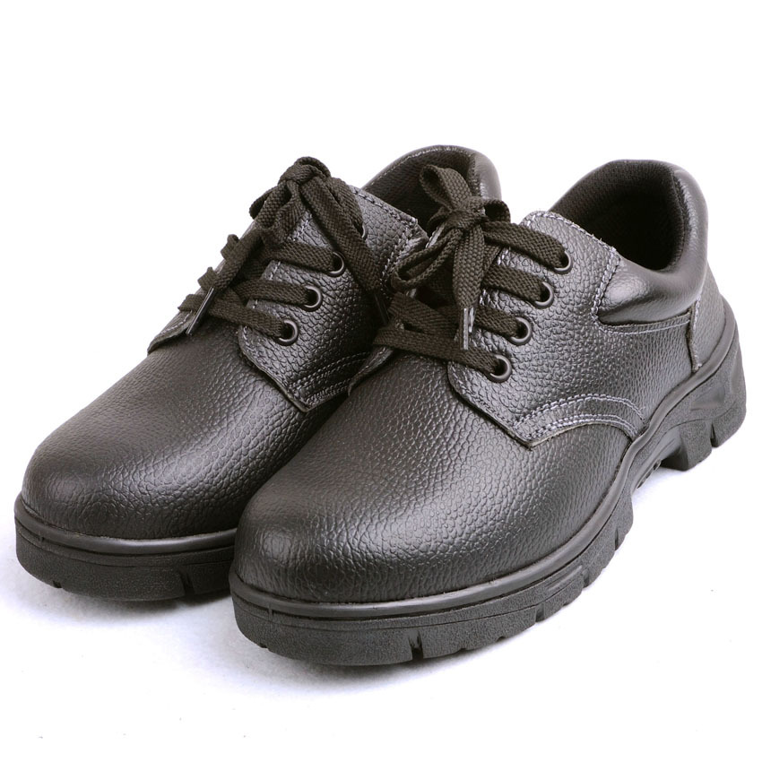 Italian Public Safety Shoes Smashing Anti Puncture Safety Shoes Low Top Split Cowhide Wear-Resistant Casual Bottom Protective Sh