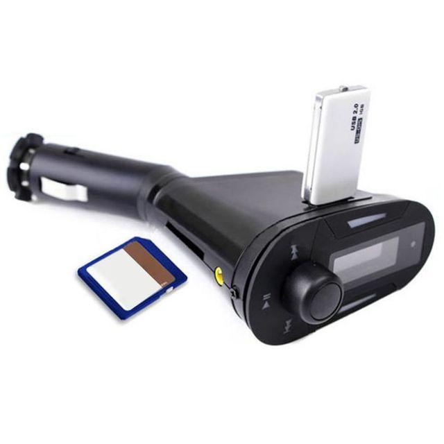 Nouveau lecteur Mp3 de voiture sans fil de transmitre FM USB Fashional portatif coloré prend en charge les cartes SD