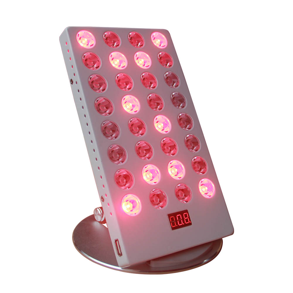 2019 Newest Products 660nm 850nm Skin Beauty TLmini 35W Red Light Therapy Lamp With Time Control For Travel
