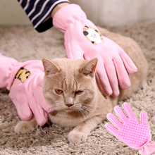 Pet Hair Removal Comb Cat Hair Comb Gloves Cat Grooming Gloves Dog Massage Combs Pet Supplies Pet Hair Deshedding Brush Comb new pet deshedding comb bursh cat dog hair remover brush grooming quick clean tools multi purpose comb hair for pet supply